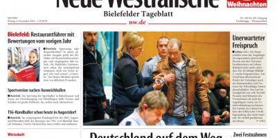 Titelblatt Neue Westfälische