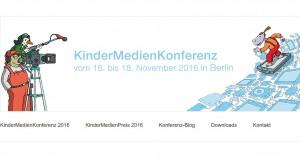 Logo der Kindermedienkonferenz, www.kindermedienkonferenz.de
